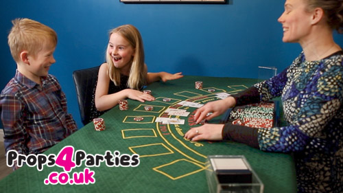 Blackjack Home Party, Do it yourself casino hire