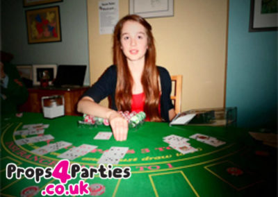 Blackjack Party at Home ideas, DIY Casino hire