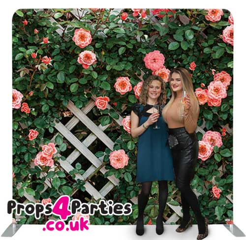 Garden Fence Flower Wall Hire