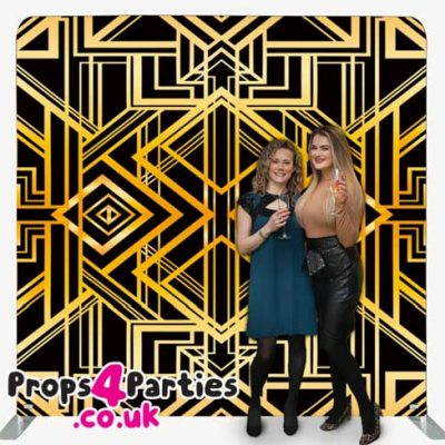 Great Gatsby Photo Backdrop Hire