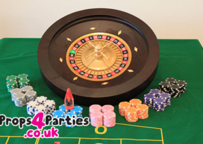 Home Roulette Party, DIY Casino