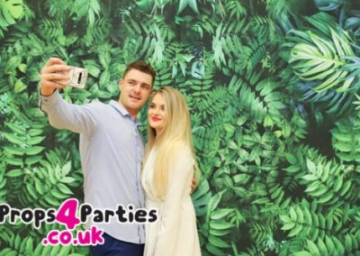 Jungle Flower Wall Hire