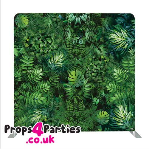 Jungle leaves Flower wall hire