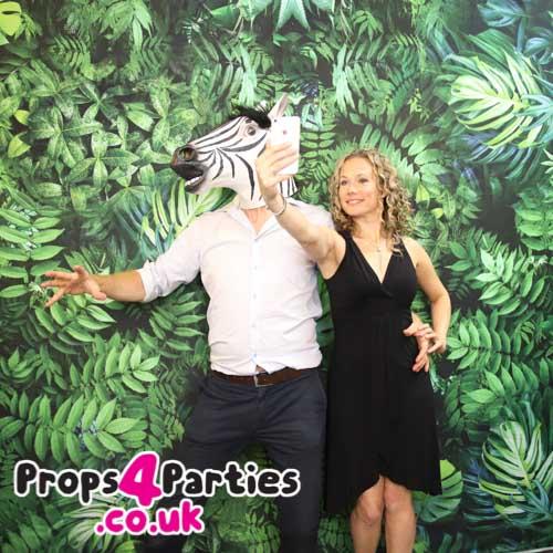Jungle party photo backdrop
