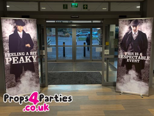 roll up banner hire