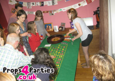 Roulette Party at Home ideas, do it yourself casino
