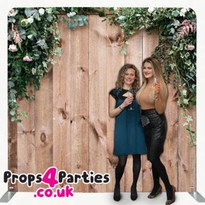 Rustic Flower Wall Hire