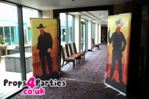 wild west banners