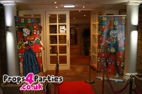day of the dead prop hire